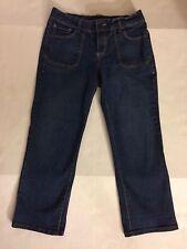 Jeanstar Women's Capri Jeans Size 8 Inseam 25; Dark Wash
