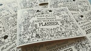 Fairy Woodland Colouring Book A5 Planner to Colour Yourself