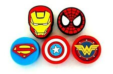 5 Super Hero Tennis Vibration Shock Absorber Dampener Iron Spider Man Cap Marvel