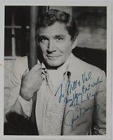 Gene Barry Original Autographed Photograph Emmy Tony Nominated Movie/TV Star