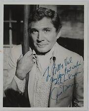 Gene Barry Original Autographed B&W Photograph, Emmy Tony Nominated Movie Star