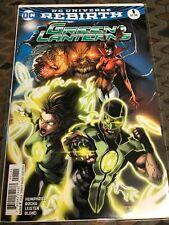 Green Lanterns: Rebirth #1 –(9.6-9.8 Unread)