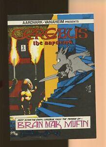 Cerebus the Aardvark 5 VF 8.0 * 1 Book Lot * Dave Sim! Aardvark-Vannahiem 1978!