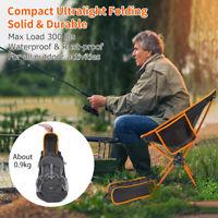 Ultralight Folding Camping Chair Hiking Finishing Outdoor Monn Chair Seat 150KG