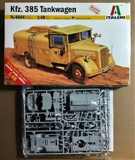 ITALERI 6604 - KFZ.385 TANKWAGEN - 1/48 PLASTIC KIT
