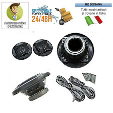 COPPIA CASSE AUTO 250 WATT ALTOPARLANTI 10 CM 2 VIE 250W SPEAKER WOOFER AUTO
