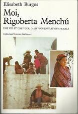 ELISABETH BURGOS MOI,RIGOBERTA MENCHU