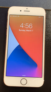 Apple iPhone 6s - 32GB - Rose Gold (Unlocked) A1687 (CDMA + GSM) Phone Only