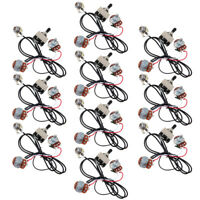 10set Electric Guitar Wiring Harness Kit 3Way Toggle Switch Volume Tone 500K Pot