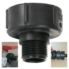 """S60x6×1"""" IBC Tote  Drain Tank Adapter Water Tank Garden Hose Fitting Tool US"""
