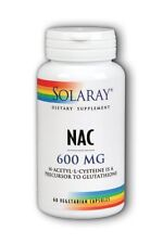 NAC 600mg Solaray 60 VCaps