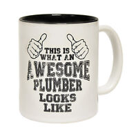 This Is What An Awesome Plumber Looks Like Plumbing MUG cup birthday funny gift