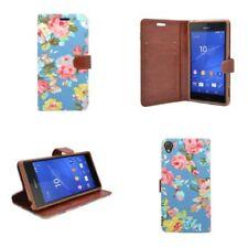 Fundas y carcasas liso de color principal azul para teléfonos móviles y PDAs Sony
