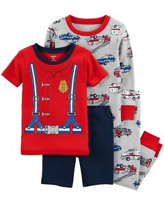 Boys Fireman Sam or Postman Pat Pyjamas Pjs Sleepwear