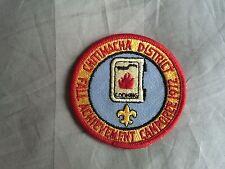 CHITIMACHA DISTRICT  1972 FALL ADVANCEMENT CAMPOREE  EVANGELINE AREA LA 563