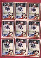 1984-85 OPC # 206 CAPITALS SCOTT STEVENS 2ND YEAR  CARD LOT