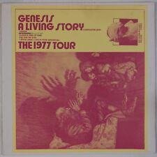 GENESIS: A Living Story, 1977 Tour LIVE Rare Vinyl LP