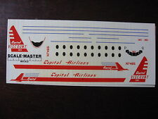 1/144 DECALS VICKERS VISCOUNT 700 CAPITAL AIRLINES DECALCOMANIES