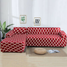 2pcs 3-seater Sofa Covers Stretch Couch Slipcover for Separable Sectional Sofa