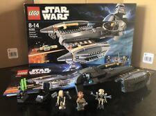 Lego Star Wars 8095 General Grievous Starfighter Raro 2010 Set con minifgures