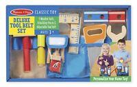 Kids Melissa and Doug Tool Belt Set Builder Construction Pretend Play Toy Age 3+
