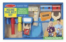 Kids Melissa and Doug Tool Belt Set Builder Construction Pretend Play Toy Age 3+