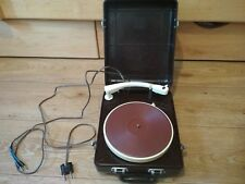 """Old Carbolite Electrophone, record player, Turntable """"MMZ"""" USSR"""
