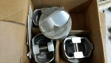 L2504F .060 OVER TRW FORGED PISTONS 350 CHEVY DOME #2 #3 #6 #7 CYLINDERS