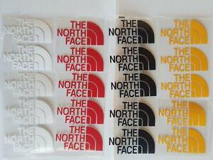 "20 pcs mixIron Heat Press vinyl Flex Logo The north face 2""×3"" approx FREE SHIP"