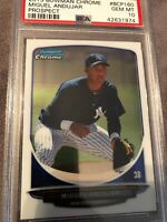 2013 Bowman Chrome Miguel Andujar NY Yankees Prospect PSA Graded 10 💎 GEM MINT