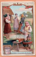 Russia Voroneje Clothing Fashion Russian Clothsc1907 Trade Ad  Card
