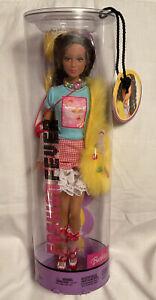 MIP 2004 FASHION FEVER KAYLA Mattel Tokyo Pop Yellow Faux Fur G9009 Barbie