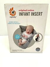 Ergobaby Infant Insert Original Cotton Fits All Ergobaby Carriers Gray New