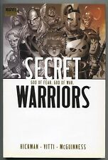 Secret Warriors God of Fear War 2 HC Marvel 2010 NM 1st Print 7 8 9 10 Hickman