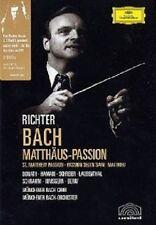 DONATH/HAMARI/SCHREIER/BERRY/RICHTER/+ - MATTHÄUS-PASSION (GA) 2 DVD NEU