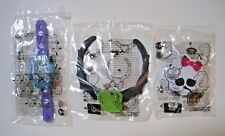 2017 Burger King Mattel MONSTER HIGH Everyone Is Welcome Toys Set Of 3 Free Ship
