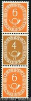 GERMANY MICHEL# S4 FROM BOOKLET PANE SHEET MINT HINGED AS SHOWN