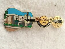 Hard Rock Cafe Narita Facade Guitar Pin LE