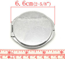 Fashion Portable Pocket Mirror Compact Double Side Makeup Cosmetic Round SP