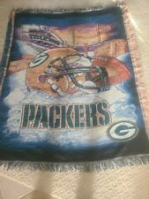 """Packer Blanket Lots Of Color ''''T itletown''' ' 49"""" X 62"""""""