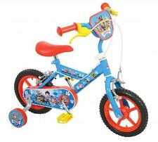 """Paw Patrol Boys Kids Childs 12"""" Character Themed Bicycle Single Speed First Bike"""