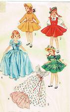"4098 Vintage Slender Doll Pattern - Size 10.5"" - Korean War Year 1952"