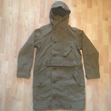 RRL Ralph Lauren Military Army Parka Trench Coat Small