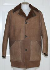 SHEARLING SHEEPSKIN COAT / JACKET / PREMIUM QUALITY / MADE IN SCOTLAND / MEN MED