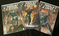 ZODIAC Issues #1 2 3 Complete (2019 1st Print Zenescope)