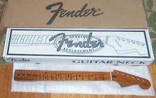 "Fender® Roasted Maple Strat Neck~22 Jumbo Frets~12"" Radius~Flat Oval~Brand New"