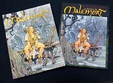 le roman de MALEMORT n° 4 jaquette + 3 ex-libris + marque-page EO 2002 TB état