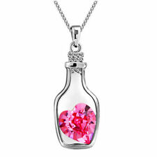 US SELLER BEAUTIFUL PINK SAPPHIRE LOVE POTION #9 HEART NECKLACE FREE SHIPPING