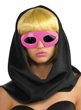 Licensed Lady Gaga Pink Sunglasses Eyeglasses Costume Accessory New