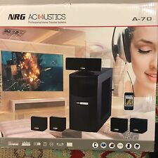 Nrg Acoustics A-70 Home Theater System Msrp sticker on box states $1899!